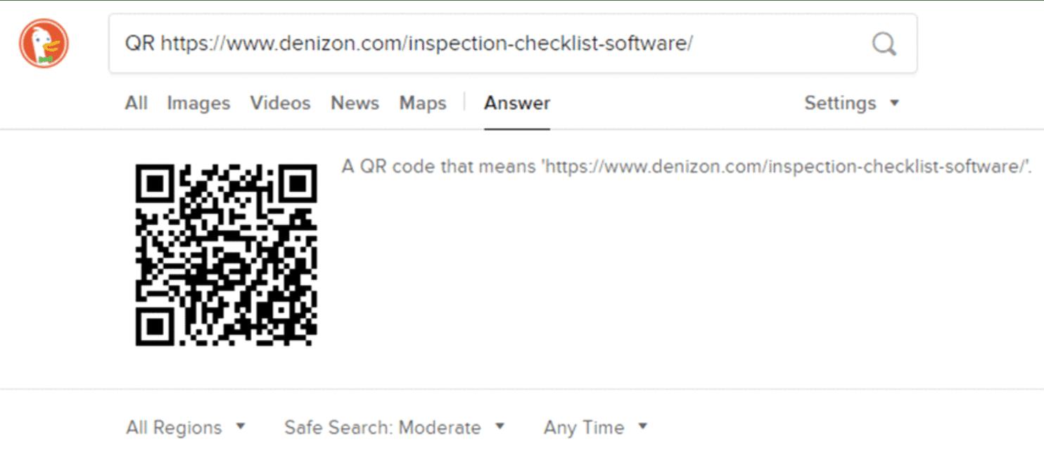 DuckDuckGo QR Codes